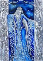 Varda the Star-Queen by JankaLateckova