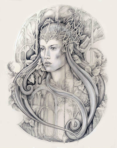 Mirkwood Queen by JankaLateckova