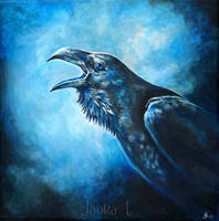 Raven by JankaLateckova
