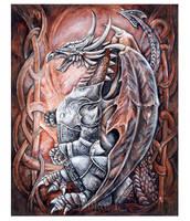 The Dragon by JankaLateckova