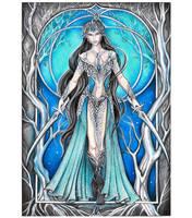 Queen of Swords by JankaLateckova