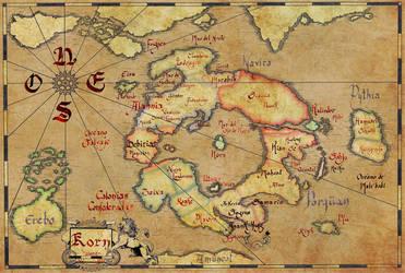 Mapa de Korn by Jernhest