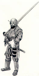 Espadero de la Inquisicion con traje tradicional by Jernhest