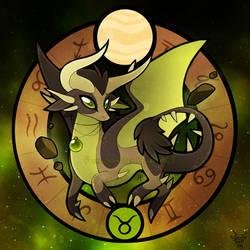 Zodiac Dragons: Taurus by FennecSilvestre