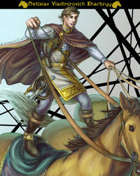 [FATE GO OC] Rider from Sea of Azov by SlavaDe
