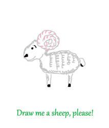 Draw Me A Sheep Please By Tidi Shirts On Deviantart