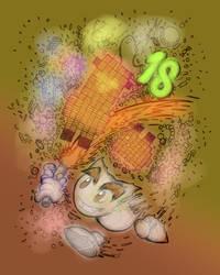 Happy 18 Birthday Deviantart! by fruztal