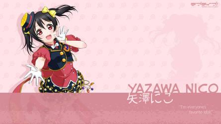 Yazawa Nico Wallpaper - 01 by chiiratiramisu
