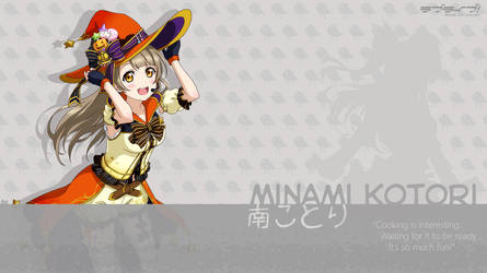 Minami Kotori Wallpaper - 01 by chiiratiramisu
