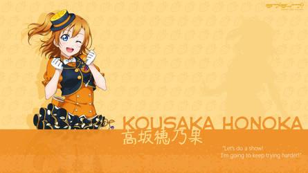 Kousaka Honoka Wallpaper - 01 by chiiratiramisu