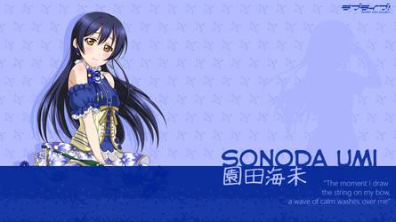 Sonoda Umi Wallpaper - 01 by chiiratiramisu