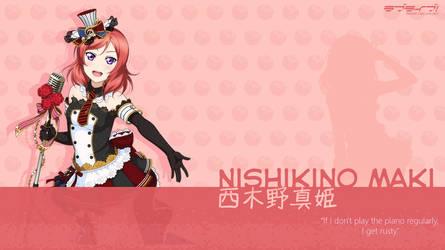Nishikino Maki Wallpaper - 01 by chiiratiramisu