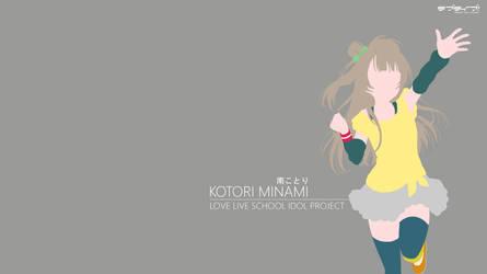 Kotori Minami Wallpaper - 02 [Minimalist] by chiiratiramisu