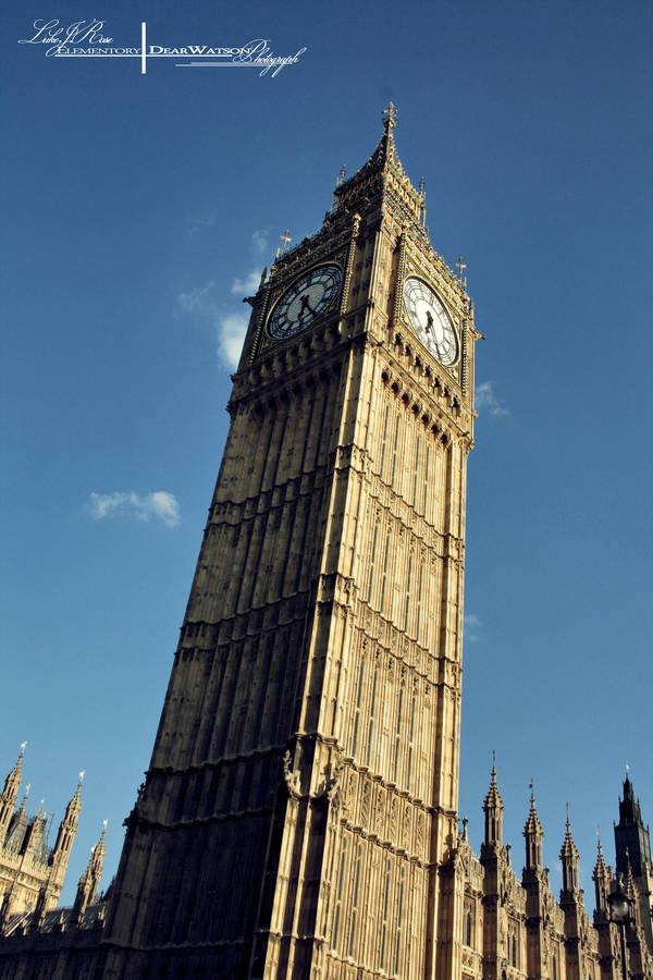 Big Ben (Clock Tower) by ElementaryDearWatson