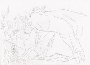 Jiraiya and Naruto by JIRANARU