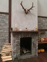 Fireplace (Final View) by AtriellMe