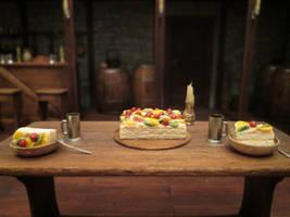 My Birthday Fruit Cake by AtriellMe
