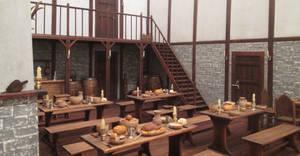 The Tavern (Left View) by AtriellMe