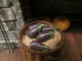 Eggplants by AtriellMe