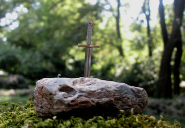 Excalibur, The Sword In The Stone by AtriellMe