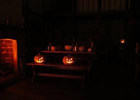 Pumpkins And Fire by AtriellMe