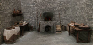 Medieval Bakery (Final View) by AtriellMe