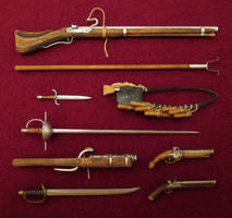 My Little Collection Of Renaissance Weapons by AtriellMe