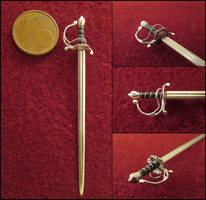 Late 17th Century German Broadsword by AtriellMe