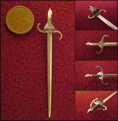 Swedish 17th Century Sword by AtriellMe