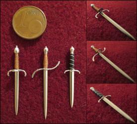 Renaissance Daggers by AtriellMe