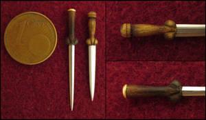 Bollock Daggers by AtriellMe