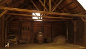 Not So Abandoned Barn by AtriellMe