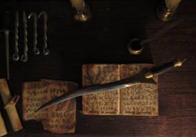 Poison Dagger by AtriellMe