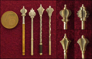 15th - 16th Century Flanged Maces by AtriellMe