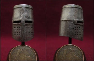 13th Century Great Helm by AtriellMe