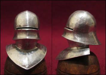 15th Century German Sallet Helmet And Bevor by AtriellMe