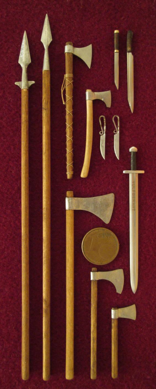 Viking Weapons by AtriellMe