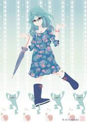 Rainy girl by Ai-Terazaki