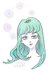 Doodle girl 05-May-2014 by Ai-Terazaki