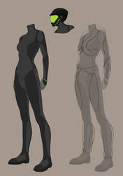 UNPD Nanotech Combat Suits by BrittanyWillows