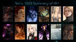2013 Summary of Art by BrittanyWillows