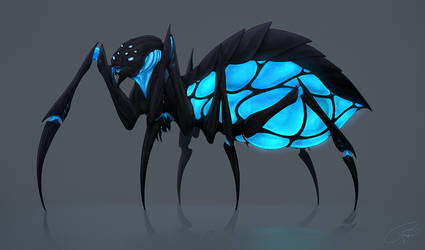 Spider - Commission for Nicholas S. Smith by BrittanyWillows