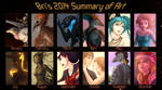 2014 Summary of Art by BrittanyWillows