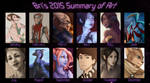 2015 Summary of Art by BrittanyWillows