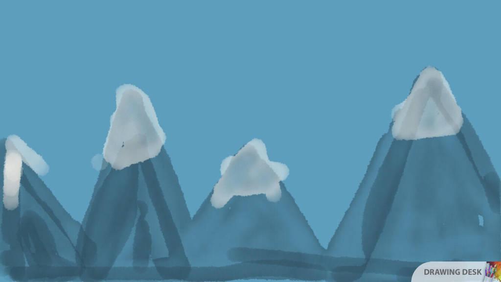 Mountain range by cupcake2232221