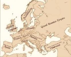 Vernepunk: Europe by iCaramello
