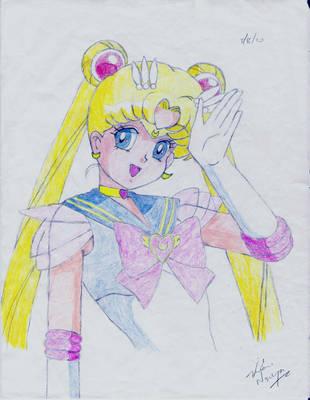 Super Sailor Moon by animaniac21285