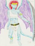 Redraw: Demona by animaniac21285