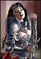 Warrior Lady 04 by Deathfeniks