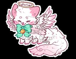 O-0349 Strawberry Fluff Angel Foodcake by SooshDatabase